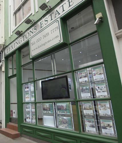 The Lexingtons Estate Agents Office