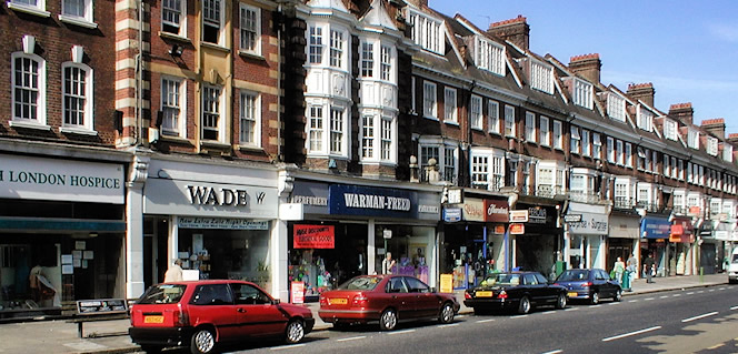 Golders Green High Street